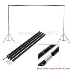 9.8Ft/3m Adjustable Background Crossbar For Photo Studio Backdrop Support Stand