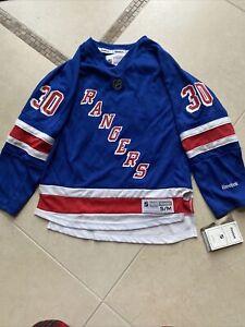 new york rangers reebok jersey youth s/m