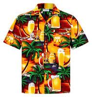 "Sun Beach M 6XL Mens Hawaiian Shirt /""Hawaiian Beauty/"" 100/% Cotton"