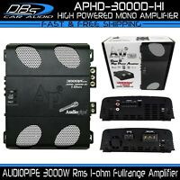 AUDIOPIPE APHD-3000D-H1 Mono Fullrange Amplifier 3000W Rms Car Audio Speaker Amp