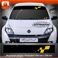 Sticker Renault Sport Clio 3 RS  aufkleber adesivi paresoleil decal 403J