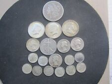 $5 FACE VALUE LOT OF 90% SILVER US COINS-MIXED VARIETY-Includes 1899O Morgan Dol