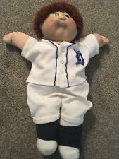 1984 (Green Signature) Cabbage Patch Kid W/ Detroit Tigers Baseball Uniform