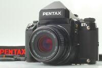 [NEAR MINT + Strap] Pentax 67II AE SMC P 90mm F/2.8 Medium Format From Japan #97