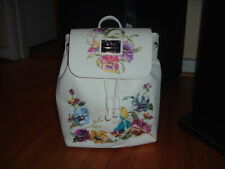 LOUNGEFLY DISNEY ALICE IN WONDERLAND FLORAL MINI BACKPACK~ WITH TAGS~ NEW~