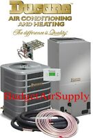 DUCANE by LENNOX 3.5 ton 14 seer Heat Pump Split system +TXV +Heat+50ft Lineset