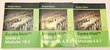 EUREKA MATH lot Grade 8 Eighth Modules 1-7 Student Ed. Workbooks VG/LN 2015