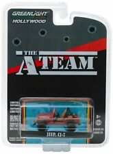 "A-Team* Jeep CJ-7  "" the A TEAM ""  TV 1983-87 **** Greenlight 1:64 NEU"