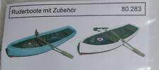 Artmaster 80.283 Ruderboote mit Zubehör (2 Stück) H0 1:87 Neu / OVP