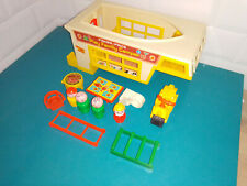 2109122 Jouet Fisher price vintage play family camper accessoires little people