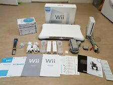 Nintendo Wii Console (PAL) Wii Balance Board, 10 Game Bundle, Mario Galaxy 2