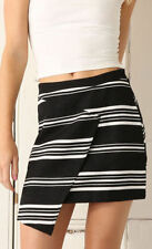 Striped 100% Cotton Mini Skirts for Women