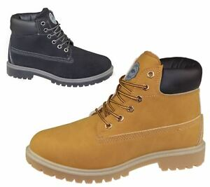 Mens Boots Winter Warm Combat Hiking High Top Desert Lace Up Ankle Shoes Size