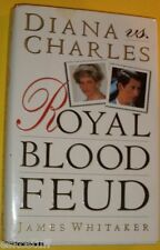 Diana & Charles Royal Blood Feud 1993 First Edition Biography! Nice SEE!