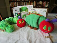 Eric Carle Very Hungry Caterpillar 2 Plush Kohls Cares bk, game, Puzzle,rattle