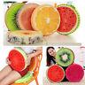 Sitzkissen Früchte Stuhlkissen 3D Frucht Kissen Durchmesser Kiwi Orange Melone