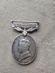 Territorial Medal For Efficient Service Tank Regiment