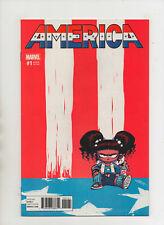 America #1 - Skottie Young Variant Cover - (Grade 9.2) 2017