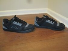 Classic Rare Used Worn Size 14 Adio Switch Skateboard Shoes Black Gray
