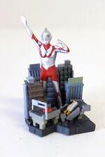 """Bandai Kaiju Ultraman Hayata 1966 3"""" Gashapon Action Figure Diorama [5337]"""