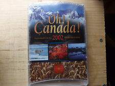 2002 7 Coin Oh Canada Set