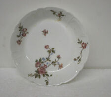 Vintage Limoges Pink Roses Flowers Porcelain Soup Bowl Dish Set of 6