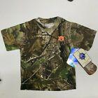 NWT 18 month Auburn Tigers Realtree Camo T-Shirt Toddler Short Sleeve Shirt Tee