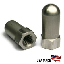 Extra Tall Too Tall Cap Acorn Hex Nuts 18-8 Stainless Steel USA - All Sizes+Qtys