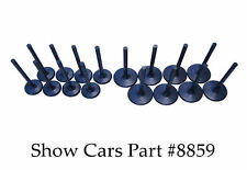 348 409 ALL CHEVROLET IRON HEADS AND EDELBROCK HEADS 1.75 2.25 TITANIUM VALVES