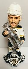 Patrice Bergeron Boston Bruins RARE White Stanley Cup Champions Bobble Head RARE