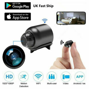 1080P Mini Hidden Spy Camera HD WiFi Wireless Night Vision Motion Detection UK