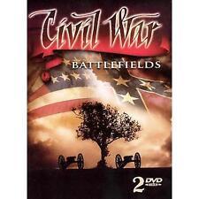 Civil War Battlefields (DVD, 2008) 2 DVD Set, in Tin Master Carton  NEW