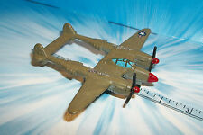Micro Machines Aircraft P-38 Lightning # 4B Green