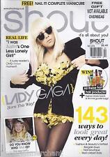 Shout magazine Lady Gaga Fashion Beauty Bargain buys Nail boutique Red carpet  .