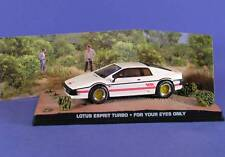 LOTUS ESPRIT TURBO FOR YOUR EYES ONLY JAMES BOND 007 1/43 UNIVERSAL HOBBIES