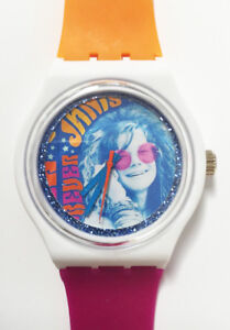 Janis Joplin watch - Retro 80s designer watch