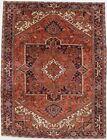 Vintage Geometric Design 10X13 Hand Knotted Oriental Area Rug Home Decor Carpet