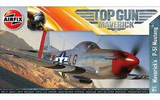 Airfix Top Gun Maverick P-51D Mustang 1:72 Scale Plastic Model Plane Kit A00505
