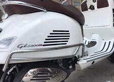 Rear Crash Bars / Side Protection Bar for Vespa GTS GTV SUPER, Chrome