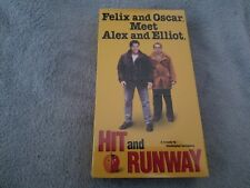 Hit and Runway (1999) - VHS Tape - Comedy - Michael Parducci- Peter Jacobson-NEW
