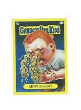 2011 TOPPS GARBAGE PAIL KIDS KENT STAND IT YELLOW PARALLEL #55B