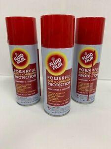 FLUID FILM RUST & CORROSION preventative spray - 3 cans 333G (11.75 oz)