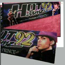 Rare Prince Bumper Sticker Jamz Radio LA CA Hot92 Out of Print New Holograph