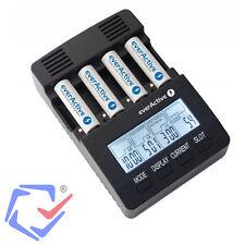 Intelligentes Akku Ladegerät Mignon AA und Micro AAA Batterien R03 R6 NC-3000