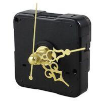 DIY Uhr Metall Textur kreative Wanduhr Retro Wanduhr Bewegung Zubehoer B1I3) 2I