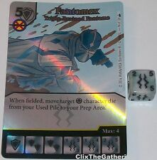 Foil FANTOMEX: TRIPLE-BRAINED FANTOME 94 Deadpool Marvel Dice Masters Rare