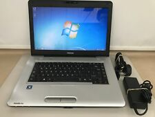 Toshiba Satellite Pro L450 Laptop 2.2Ghz 4Gb RAM 160Gb Hdd Windows 7
