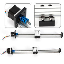 Linear Guide Slide Table Ball Screw Motion Rail CNC Linear Guide Stage Actuator