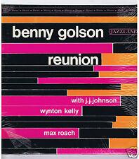 LP BENNY GOLSON REUNION JJ.JOHNSON WYNTON KELLY MAX ROACH (JAZZLAND STEREO)