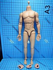 Modeling Toys 1:6 MMS9002 Armed Police Officer Figure - Muscular Body + Feets